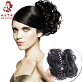 9Colors Women Hair Claw Chignon Headband Hairpiece Clamp Buns Updo Curly Wavy Synthetic Hair Extension Cosplay Styling Tools