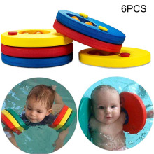 High Quality 6 Pcs Baby Float Discs Swim Arm Brand Set Child Kids Swimming Learning Aid Armbands for Pool NCM99