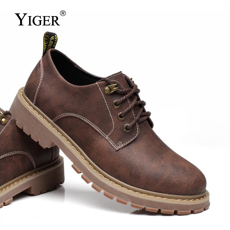 YIGER New Hommes Loisirs Chaussures Hommes Casual Chaussures à - Chaussures pour hommes - Photo 2