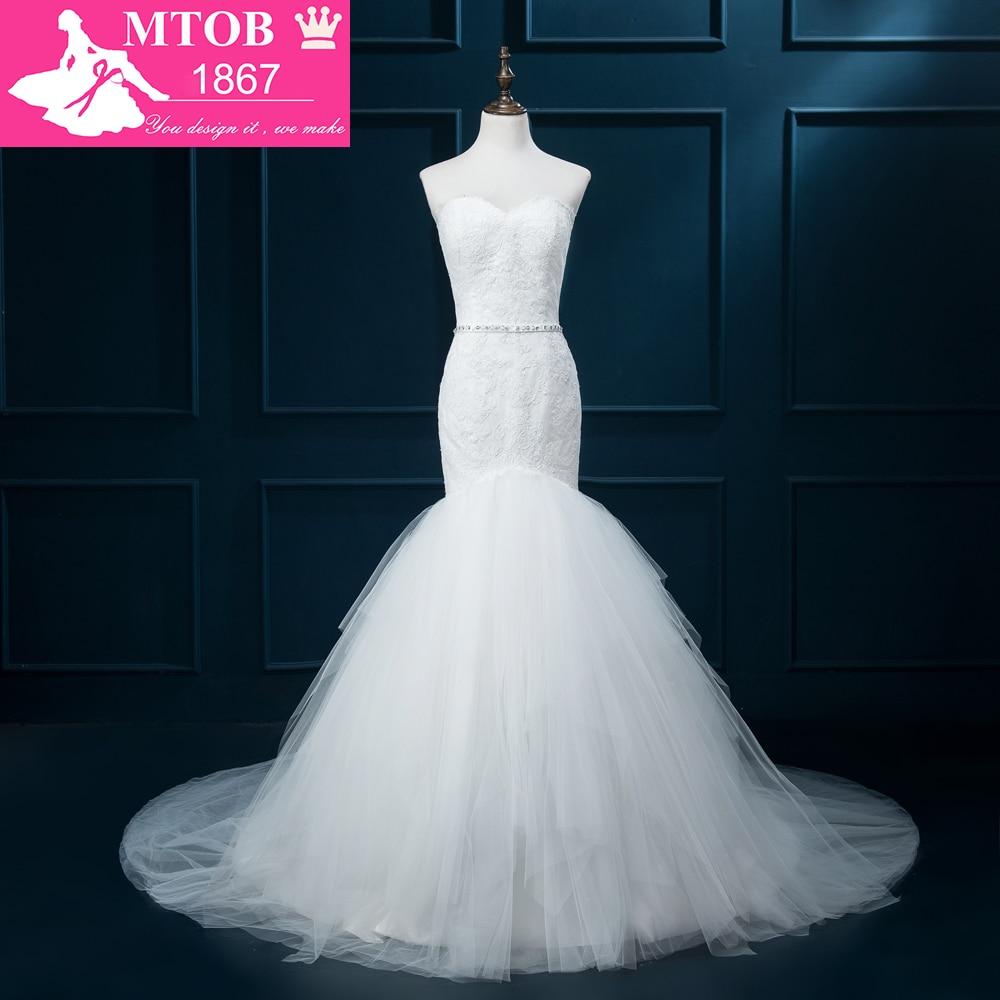 Mermaid wedding dresses lace wedding gowns vestido de for Online wedding dress stores