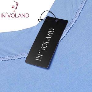 Image 5 - INVOLAND Frauen Slip Nachtwäsche Kleid Plus Größe XL 5XL Sommer Lounge Strappy Chemise Große Nachthemd Kleider Vestidos Übergroßen