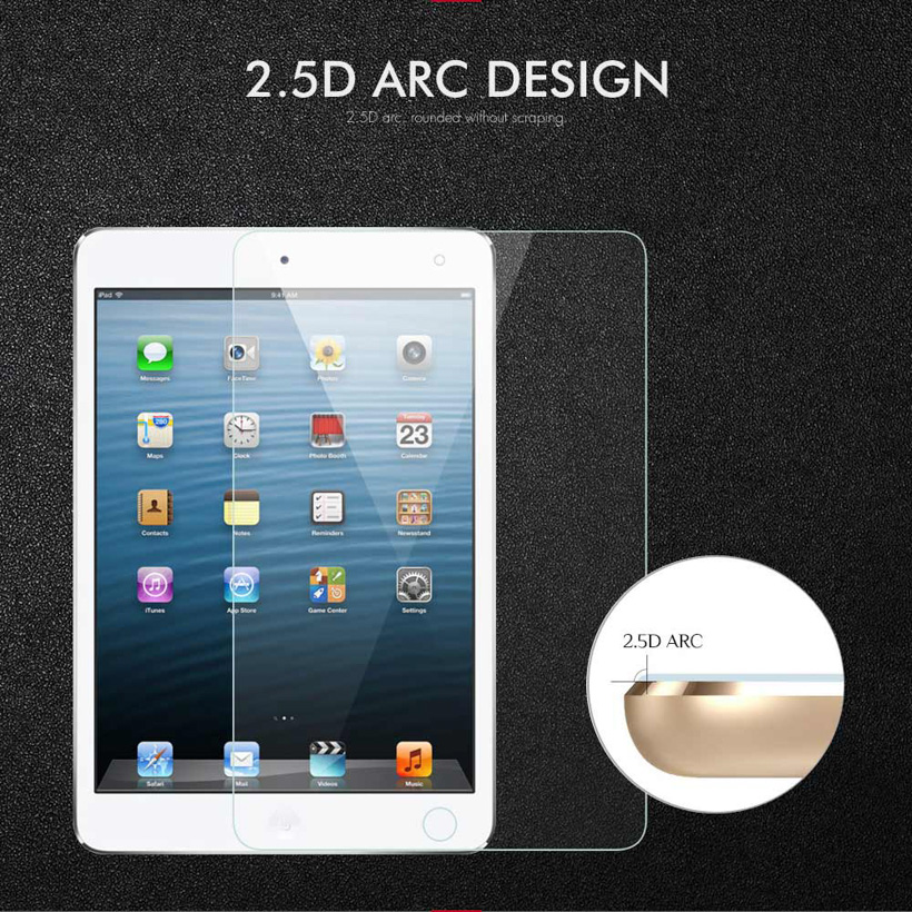 Screen Protector For Apple iPad 2 3 4 5 6 9 7 2017 Tempered Glass ipad5 iPad2 iPad3 iPad4 Air1 iPad6 Pro 10 5 Protective Cover in Tablet Screen Protectors from Computer Office