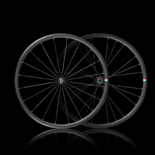 Cheap Bicycle Wheel for Road Bike V Brake 700C Bicycle Parts Lightweight Alloy Free Shipping By EMS