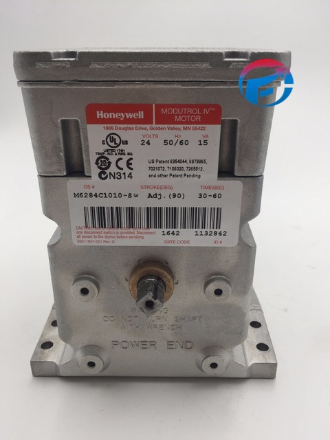 M6284c1010 17nm Honeywell Damper Actuators Modutrol Iv Motors For