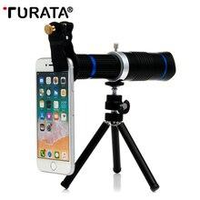 TURATA 26x HD Zoom Mobile Phone Telescope Lens Teleobiettivo Esterno Smartphone Lenti Della Fotocamera Per Il Iphone Sumsung huawei telefoni