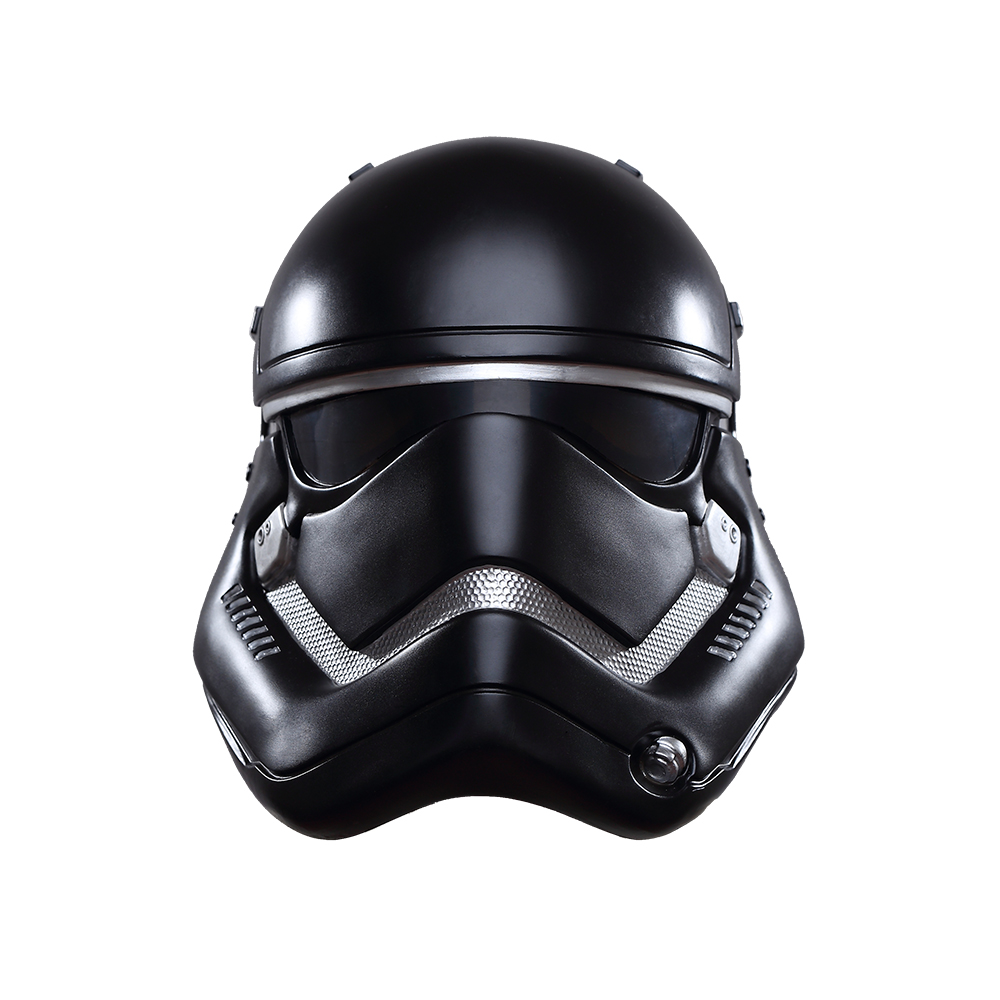 New Arrival Cosplay Mask Star Wars The Force Awakens Stormtrooper Helmet PVC Halloween Party Mask White Soldier Mask
