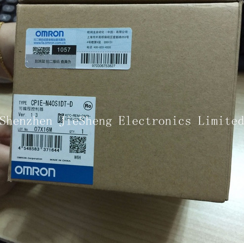 FREE SHIPPING %100 NEW  CP1E-N40S1DT-D Programmable Controller Sensor