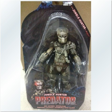 Image 3 - 20cm NECA Predator Series 8 Classic Predator Anniversary Jungle Hunter PVC Action Figure Model Toy for kids gifts-in Action & Toy Figures from Toys & Hobbies