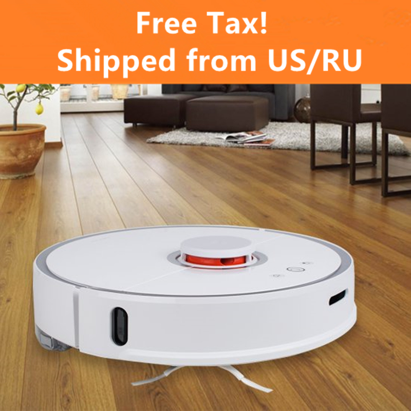 New 2018 Original Roborock S50 Xiaomi Robot Vacuum Cleaner 2 Smart Planned Cleaning For Home Office