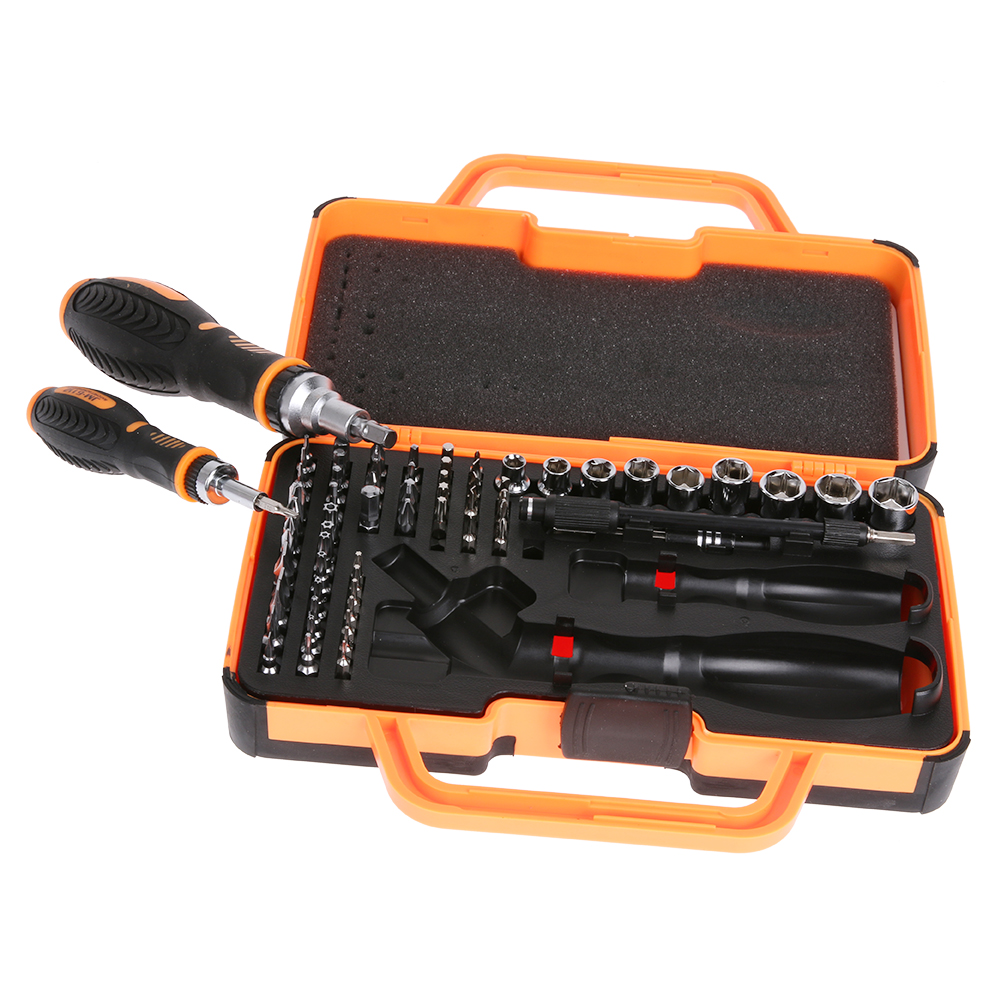 69 in 1 Precision Screwdriver Tool Kit Magnetic Screwdriver Set for Cell Phone Tablet Compact Repair Maintenance With Case precision torx screwdriver set 53 in1 tweezer flexible drill shaft disassembly screwdriver repair open tool kit for cell phone