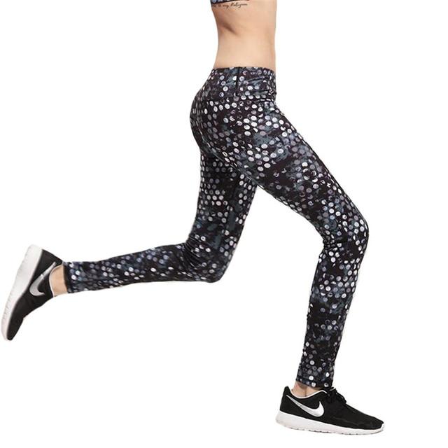 2016 Moda Outono Leggings Mulheres Deportes Calças Leggins Femme Legging Exercício Fêmea Yuga Pant Alta Qualidade Sportwear K156