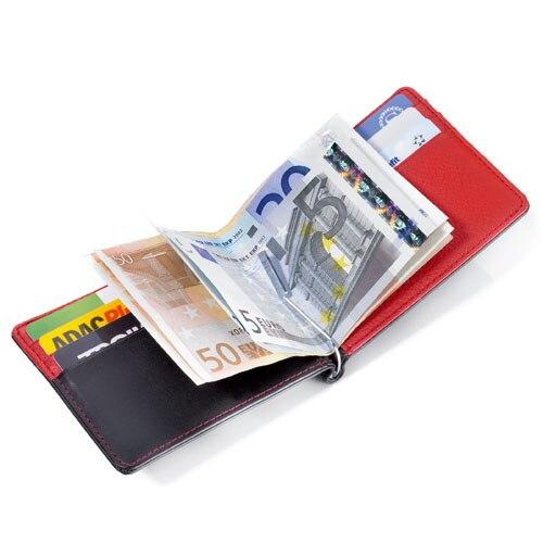 Gibo Auja - Brand Ægte Læder Herre Tegnebøger Med Money Clip Money - Punge og tegnebøger - Foto 2