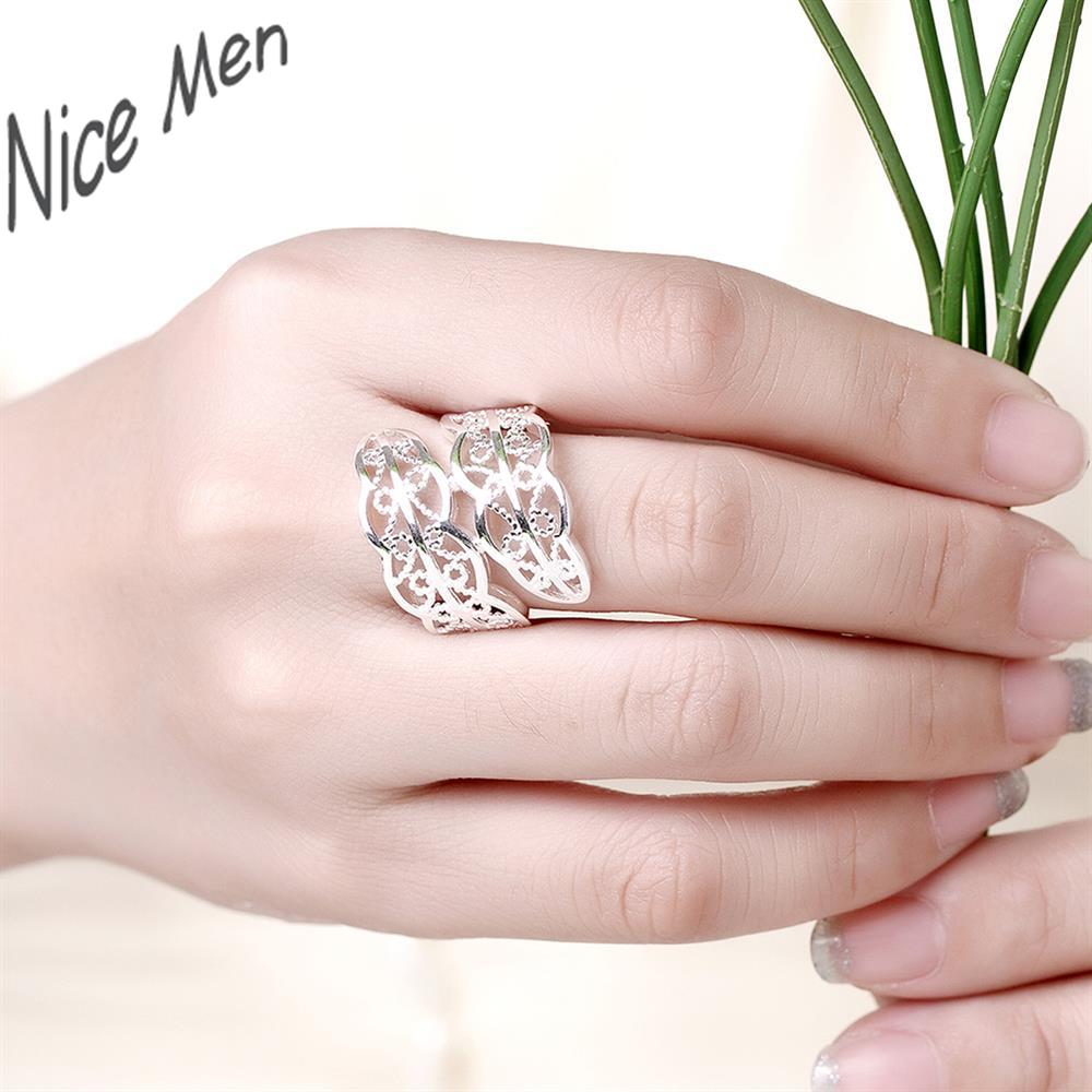 Wing nice girls rings for birthday gifts box free R740 8 Silver new ...