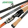 JOHNCOO Ruffy スピニングフィッシングロッド富士ガイド 1.98 メートル 2.1 メートル 2.4 メートル 2.6 メートル高速アクション Baitcasting 釣りロッド