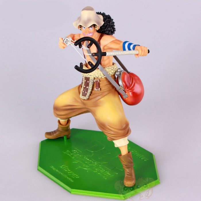 kawaii cute 1pcs 23.5CM pvc Japanese anime figure Usopp one piece action figure collectible model toys brinquedos new 1pcs 22cm pvc japanese anime figure 5th anniversary k on akiyama mio action figure collectible model toys brinquedos gc050