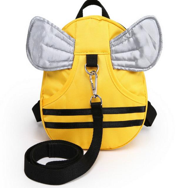 Creative 1-3 anos de idade as crianças anti perdeu bebê pequeno saco de nylon mochila saco de escola dos desenhos animados do bebê pequeno parque