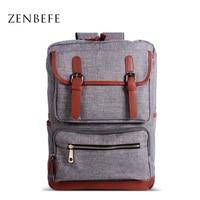 ZENBEFE New Designed Men S Backpacks Bolsa Mochila For Laptop Computer Bags Durable School Bag For