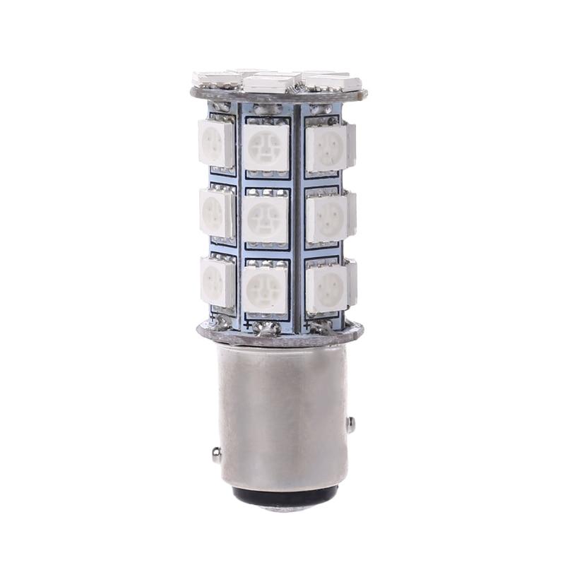 Car Tail Brake Stop Parking Signal Light 27 SMD 5050 Flash LED 1157 Bulb DC 12V