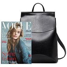 New Fashion Women Backpack Youth Vintage Leather Backpacks for Teenage Girls New Female School Bag Bagpack mochila sac a dos цена