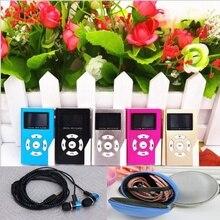 Dower me USB Mini lcd портативная Поддержка 32 Гб mini SD TF карта MP3, плеер есть новая гарнитура и комплект для хранения