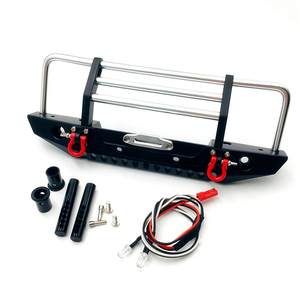 Image 2 - KYX 1/10 RC Crawler Metal Front Bumper for Redcat Racing GEN8 Scout II Parts Accessories