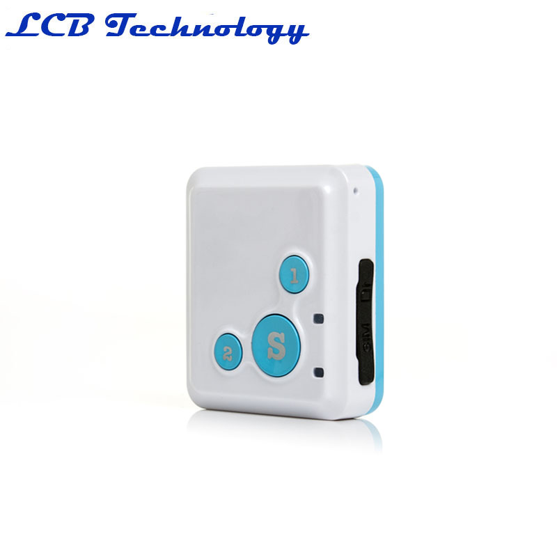 Portable RF V16 Real Time GPS Tracker Mini SOS Communicator for Kids Child Elderly Personal GSM
