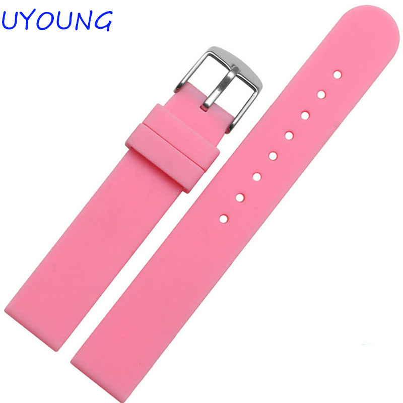 Wholesale New Hot Silicone Rubber Watchband 16mm18mm Watch accessories For Women Watch Strap early english manuscripts in facsimile vol 7