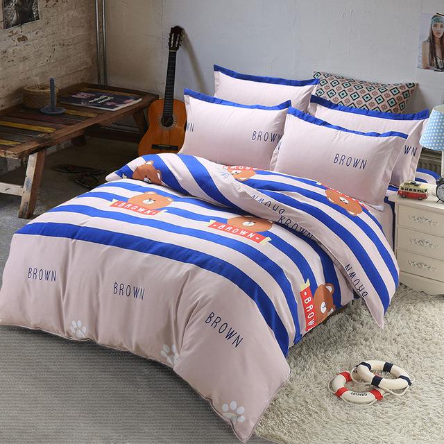 4Pcs king size Bedding Sets