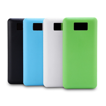 No Battery 7x18650 DIY Portable Battery Power Bank Shell Case Box LCD Display Dual USB