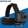 PULUZ Go Pro Accessories Elastic Head Mount Belt Head Strap for GoPro HERO5 / HERO4 Session / HERO 5 / 4 /3+ Sports Camera