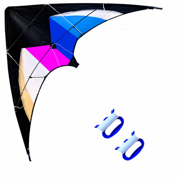 Outdoor Fun Sports   47 Inch  Dual Line Stunt  Kites  /  Kite  With Handle And Line Good Flying