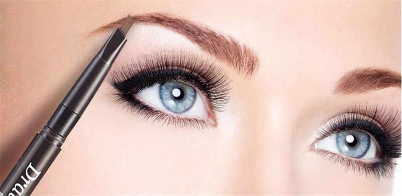 5 di stile Eye Brow Tinta Cosmetici Naturale di Lunga durata Eyeliner del Sopracciglio Impermeabile non fioritura con la spazzola testa Matita per gli occhi
