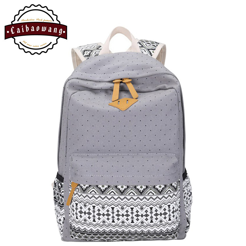 High Quality Polka Dot Backpacks for Girls-Buy Cheap Polka Dot ...