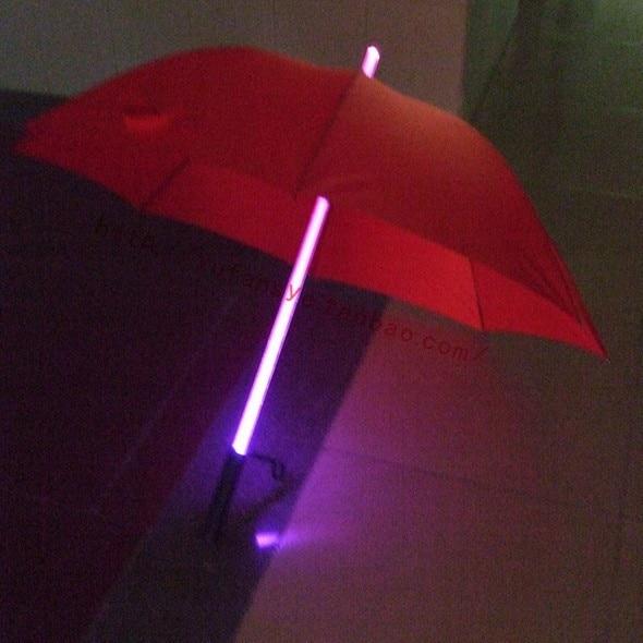 led verlichting paraplu rood blauw zwart unbrellas behandelen ...