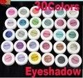 NOVO 30 Cores da Sombra do Olho Pó de Pigmento Colorido Mineral Eyeshadow Maquiagem 2018