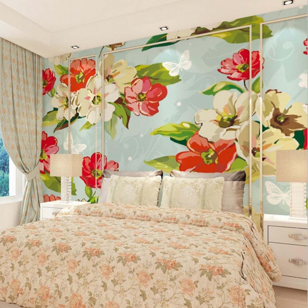 Buy flower photo living room wallpaper for Buy mural wallpaper