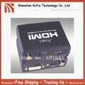 Бесплатная Доставка + Отслеживание номер + гарантированного качества новый DVI + SPDIF ДЛЯ HDMI Конвертер + С розничным пакетом + оптовых