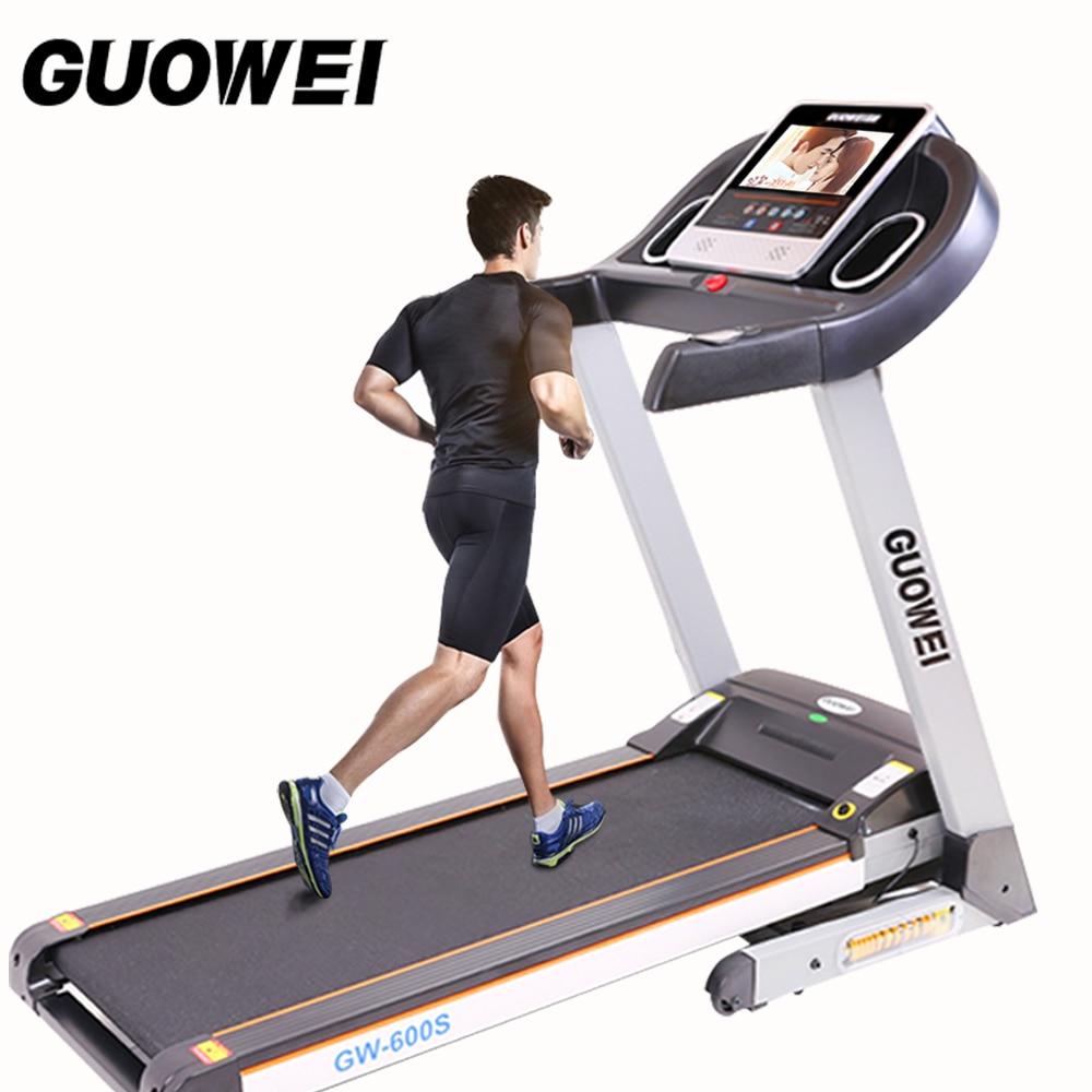 2017 Électrique Tapis Roulant Pour maison équipement de Fitness Pour la Perte de Poids équipement de sport machine de course Fitness machine de course