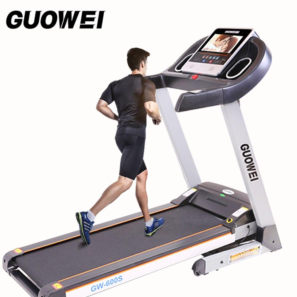 2017 cinta eléctrica para la casa equipo de fitness para la pérdida de peso equipo de ejercicio Correr máquina