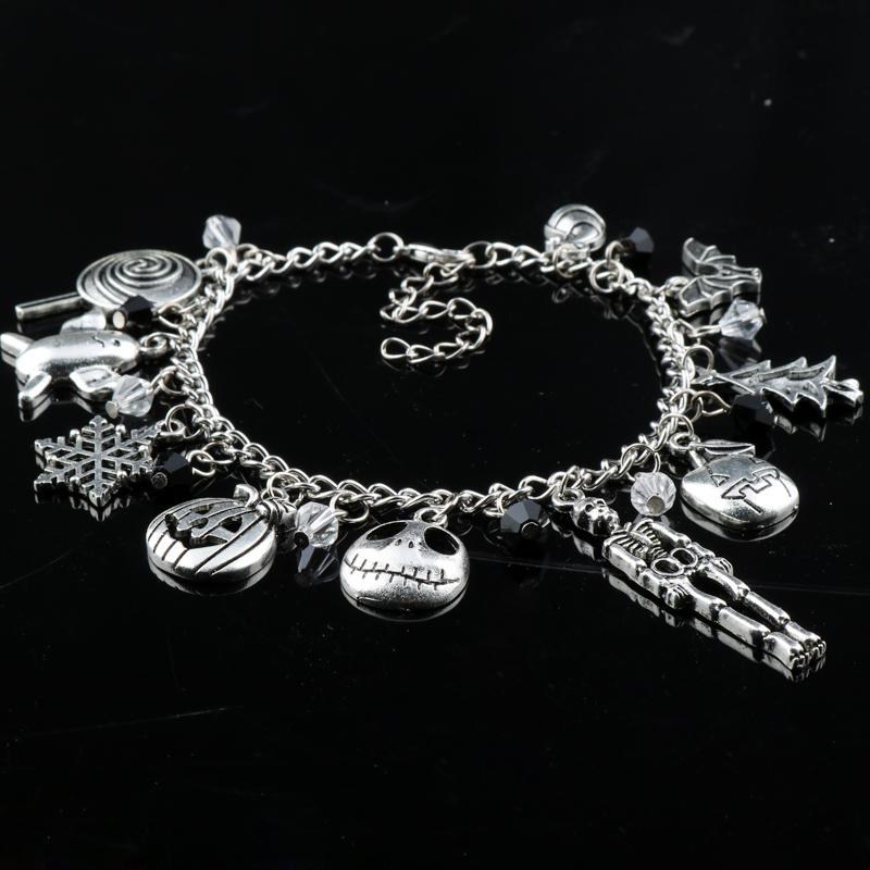 Nightmare Before Christmas Charm Bracelet