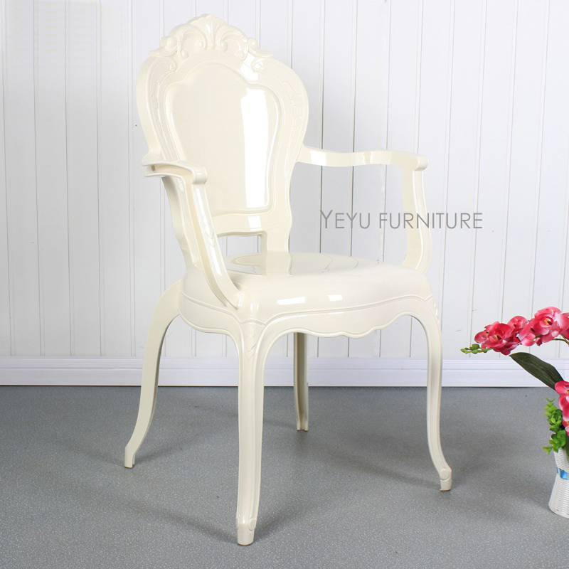 Modern Design fashion transparent Dining chair popular famous