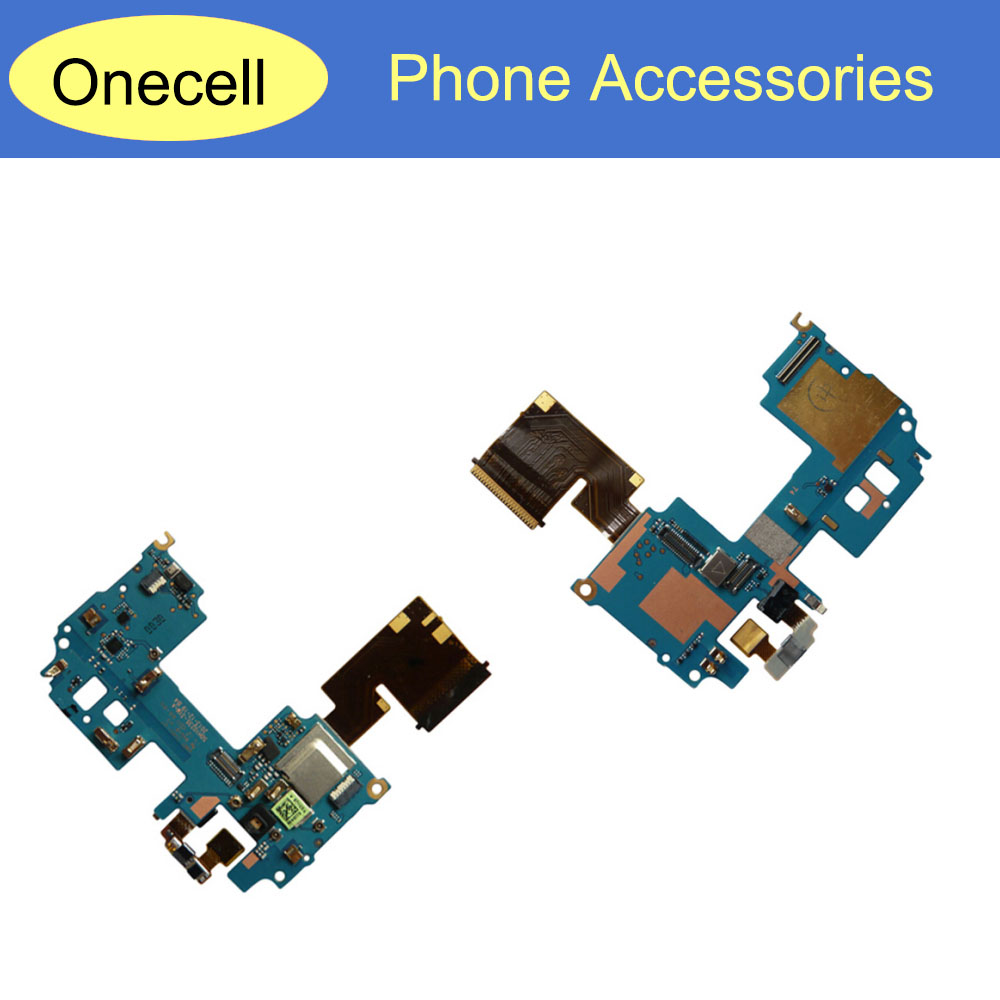 New Mainboard Motherboard FPC Connector Power Switch With Microphone Main Flex Cable For HTC One M8