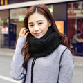 2016 Brand New Autumn Fashion Women Solid 12 Color Knitting Pullover Soft Warm Casual Scarf