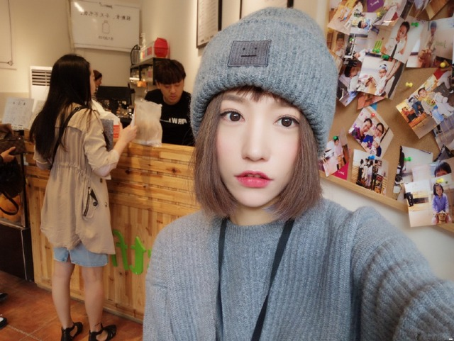 2015 autumn and winter wool hat ACNE STUDIOS smiley couple paternity unisex wool  hat knitted winter fe687157cc8
