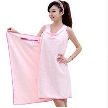 Microfiber Wearable Sexy Women's Bath Towel Beach Dress Wrap Skirt Beach Towel Soft Absorbent Super Bath U0002