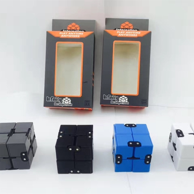 Infinity Cube Fid Spinner Magic Cube Puzzle Toy Mini Anti Stress
