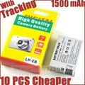 1500mAh LP-E8 LP E8 LPE8 Camera Battery For Canon EOS 550D 600D 650D 700D kiss X4 X5 X6i X7i Rebel T2i T3i T4i T5i Batteries