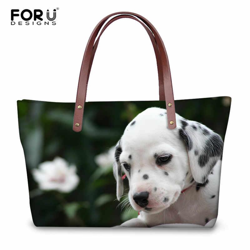 Animal Dog Handbag Dalmatian Print
