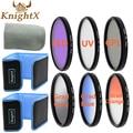KnightX CPL UV Filter Graduated ND Color Lens set for Canon Nikon Sony DSLR SLR camera Lenses d90 6D camera 400D D3000 450D 5D