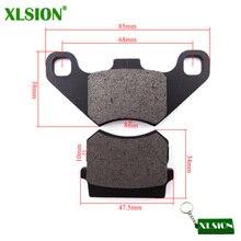 XLSION дисковый суппорт тормозные колодки обувь для 50cc 70cc 90cc 110cc125cc 150cc 200cc 250cc ATV Quad четыре колеса